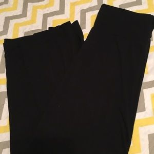 Size L black maxi skirt full length